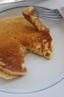 Orange Vanilla Greek Yogurt Greek Pancakes
