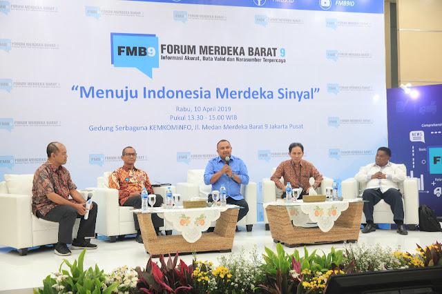 Indonesia Merdeka Sinyal?