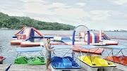 Ajis Aqua Park in Camiguin