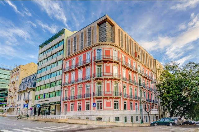 hotel con encanto en la ciudad de Lisboa fechada neoclasica chicanddeco