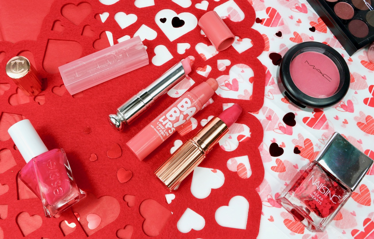 Valentine's Day Makeup Picks Dior Lip Addict Lip Glow Balm, Maybelline Babylips Colour Balm Crayon and Charlotte Tilbury Hot Lips