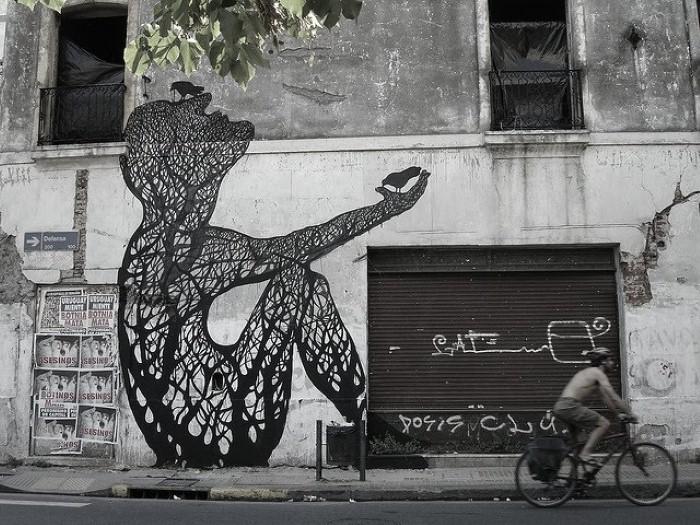 Фотографии работ уличного художника. Sam3 17