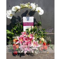toko bunga dipantai indah kapuk, toko bunga daerah pluit, jual bunga meja elegant, jual bunga meja bagus dan murah