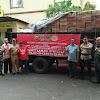 FSLA Dan Muspika Bersama sama Salurkan Bantuan Korban Bencana Alam Gempa Dan Tsunami