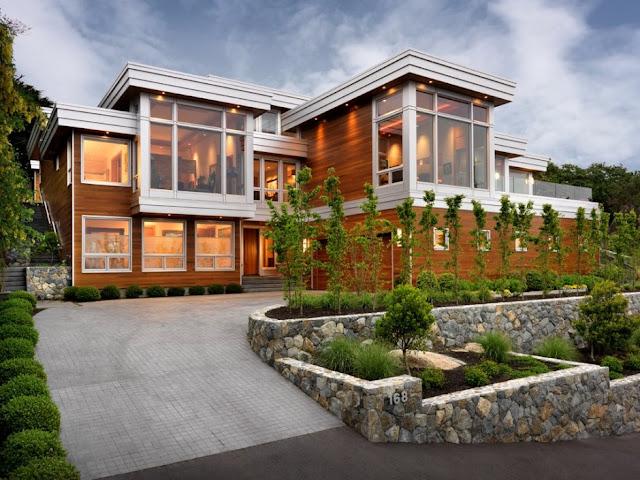 diseno de casa de madera por victoria design group