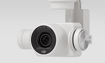 Kamera dengan sensor CMOS Phantom 4