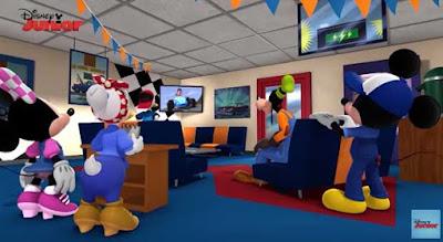 Goofy se convierte en heroe de cine en Mickey y los superpilotos