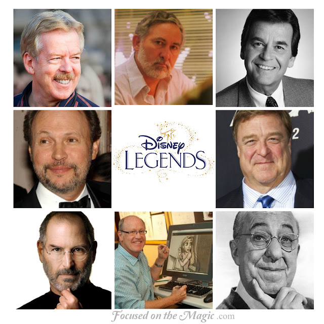 2013 Disney Legends Award Honorees to Be Celebrated During D23 Expo in Anaheim