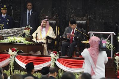 Inilah Tiga Kesalahan Pengucapan Novanto Saat Pidato Sambutan Raja Salman