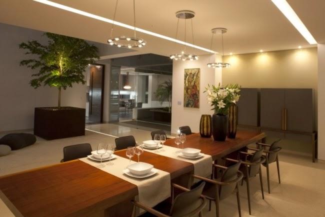 Estupendos comedores modernos y elegantes colores en casa for Diseno de comedores modernos