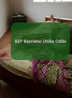 barrister otike odibi murdered wife