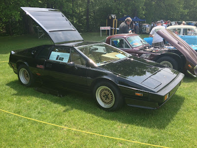 Lotus Turbo Esprit at British Car Show