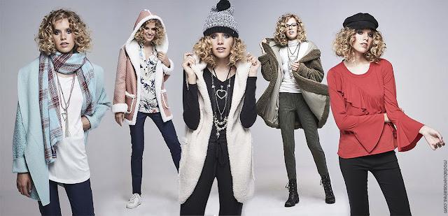 Moda otoño invierno 2018 | Blusas, vestidos, pantalones y abrigos | Ropa de mujer moda otoño invierno 2018.