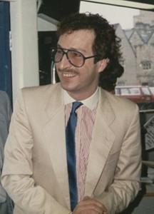 Steve Wright in the mid 1980s
