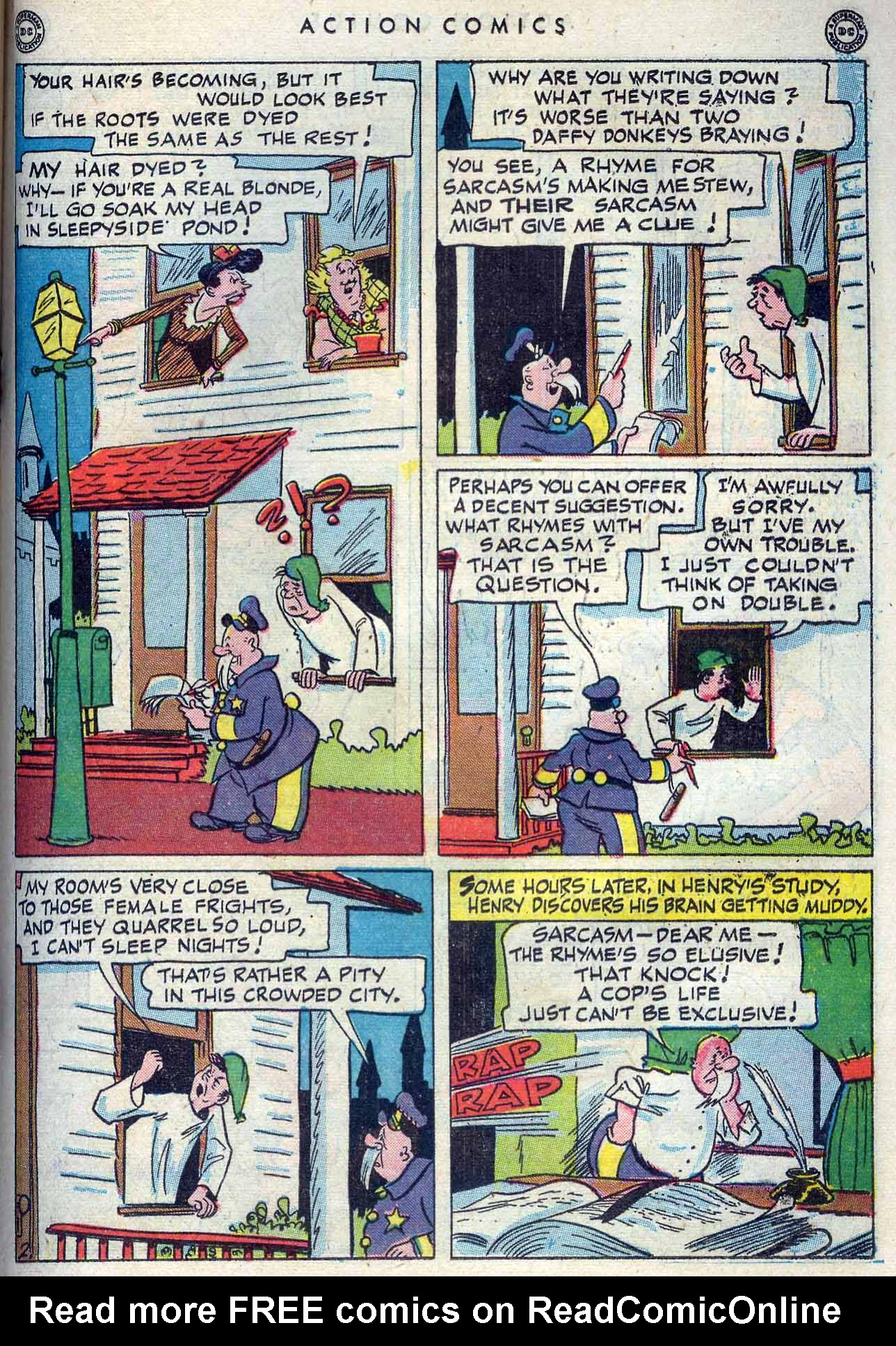 Read online Action Comics (1938) comic -  Issue #105 - 35