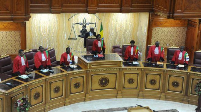 Gabon: Court upholds President Ali Bongo's election win