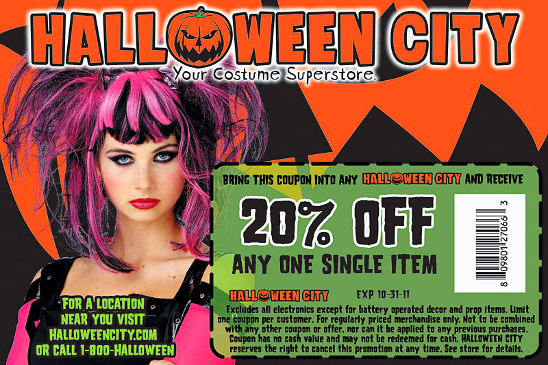 Granite City Coupons >> coupon bomb: Retail Therapy: Party City, Spirit Halloween ...