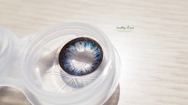 M.I.Contact Circle Blue Lens Seoul Korea Contacts