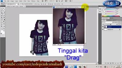 Cara Crop/ Memotong Foto Dengan Photoshop (Bagi Pemula)