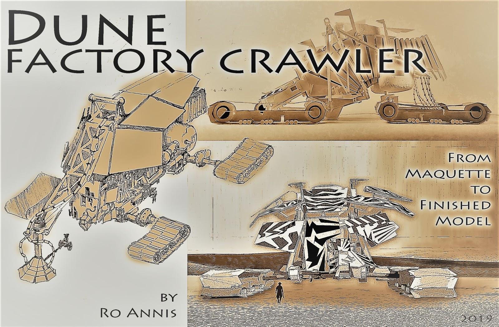 The Joy of Modeling: Dune Crawler Factory Studio Scale Model: Part 1