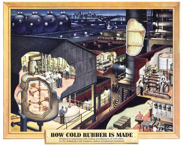 Ilustraciones industriales de Frank Soltesz