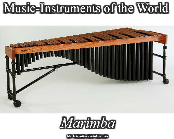 Information about Music: MARIMBA - Music-Instruments of ...