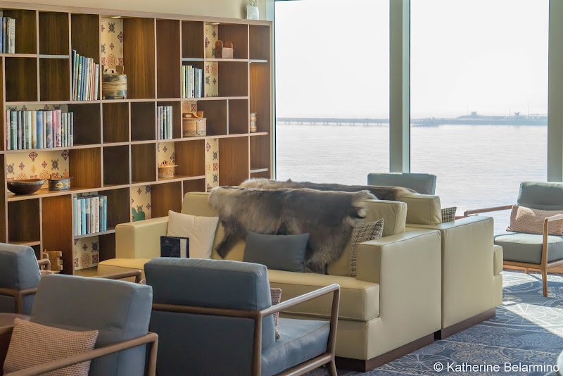 Viking Sun Explorer's Lounge Did you Know? 3 Reasons to Choose Viking Ocean Cruises