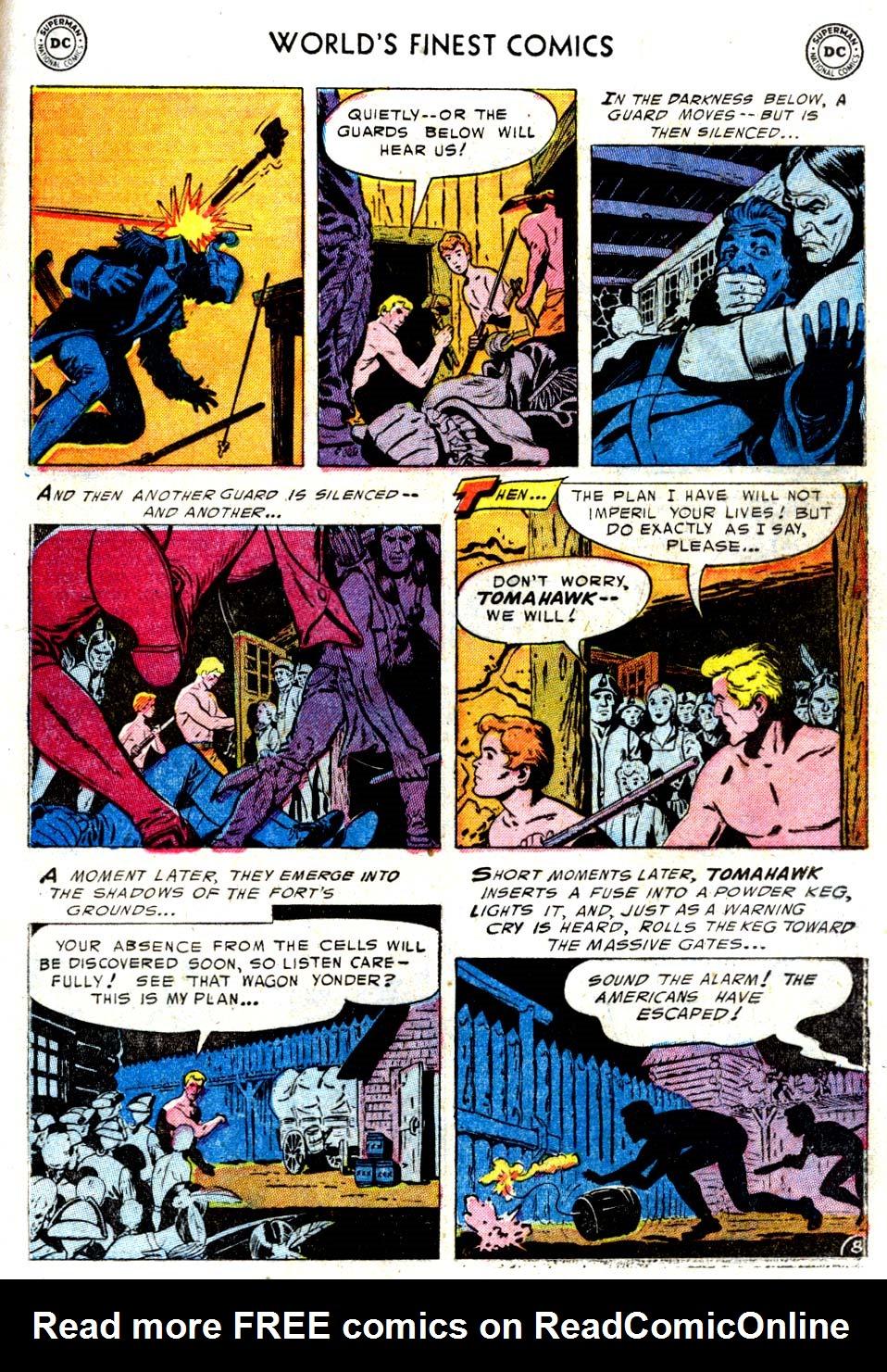Read online World's Finest Comics comic -  Issue #68 - 23