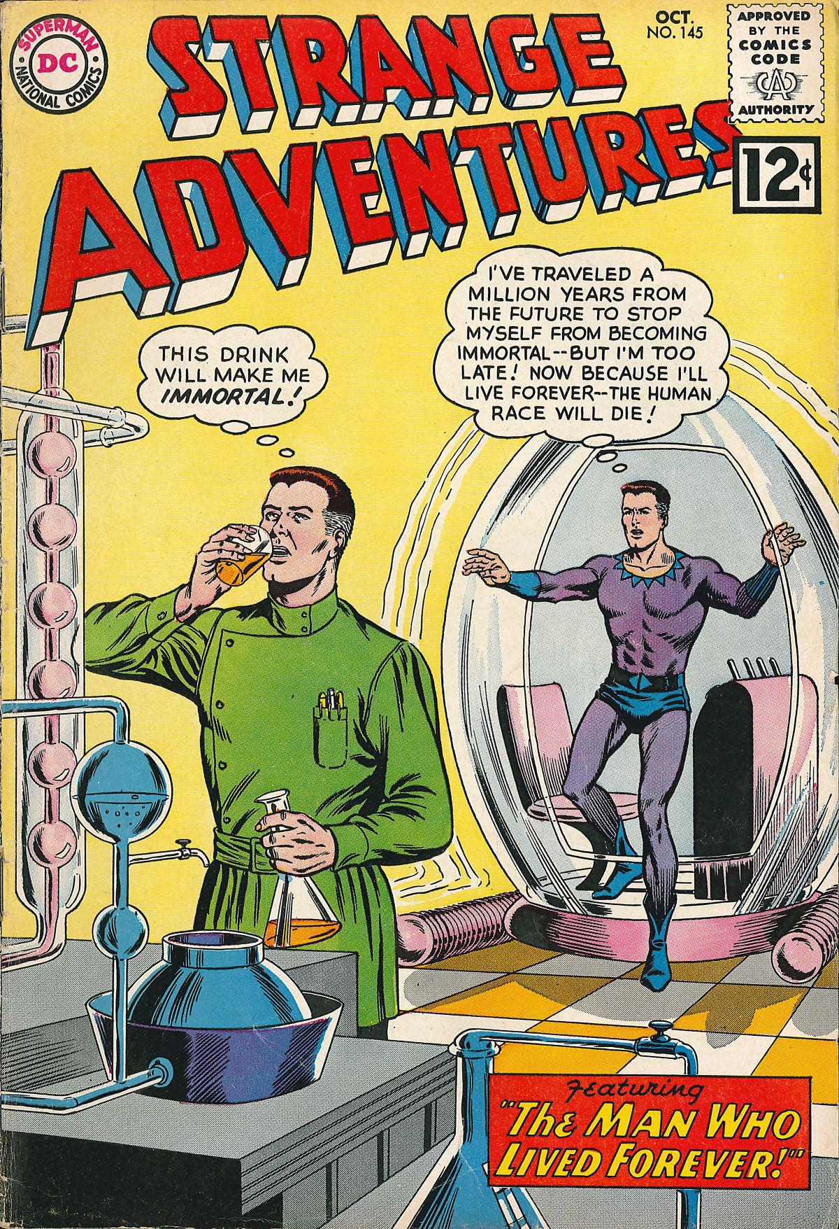 Strange Adventures (1950) issue 145 - Page 1