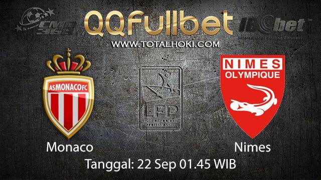 Prediksi Bola Jitu Monaco vs Nimes 22 September 2018 ( French Ligue 1 )