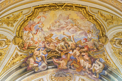 Fall of the Angels Fresco - Rome