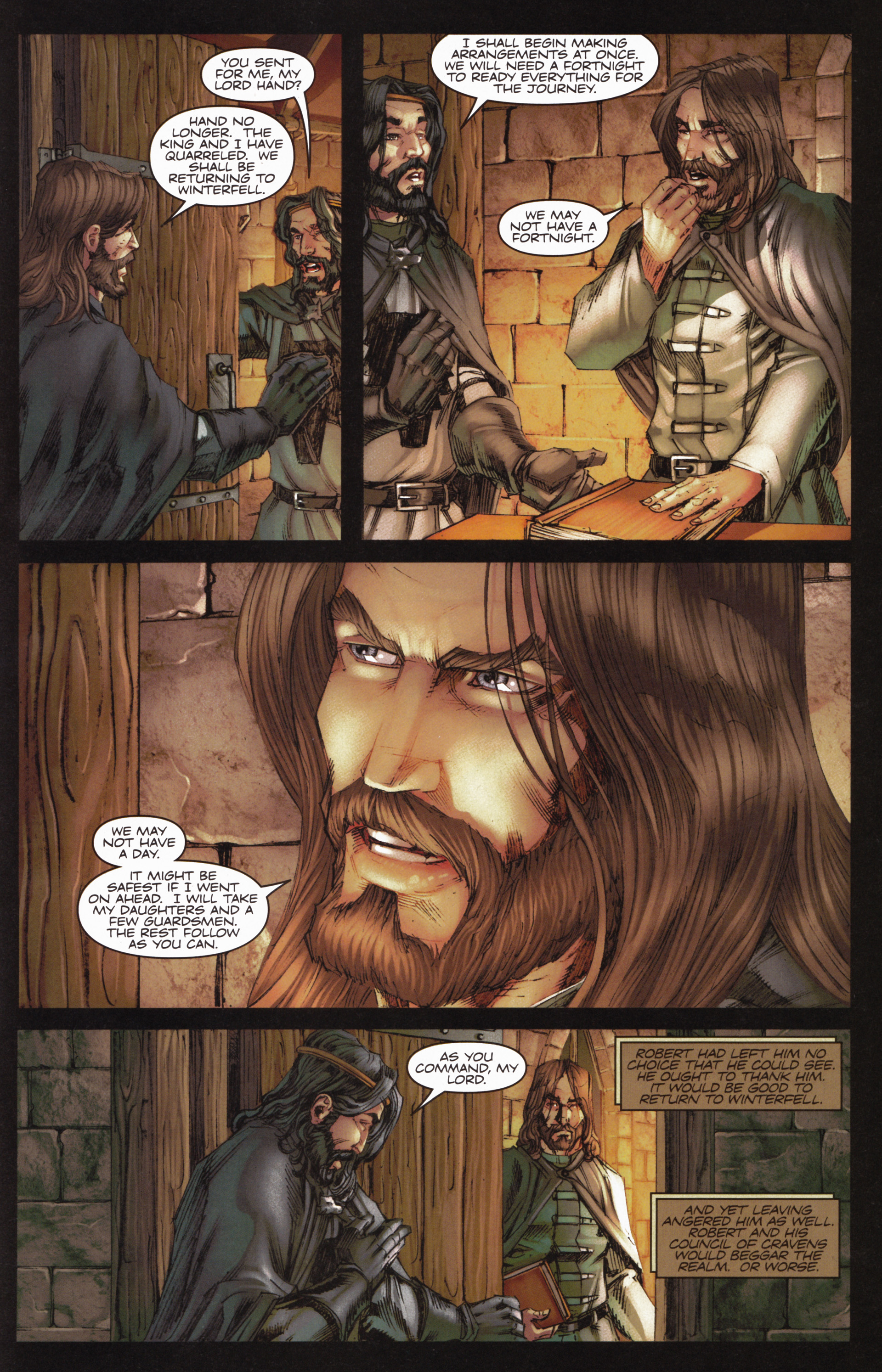 Read online A Game Of Thrones comic -  Issue #10 - 29
