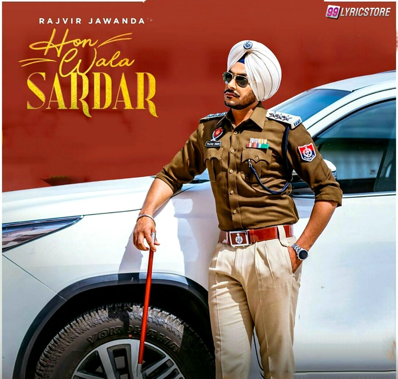 Hon Wala Sardar Punjabi Song Lyrics sung by Rajvir Jawanda