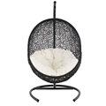 Cocoon Outdoor Wicker Patio Swing Chair
