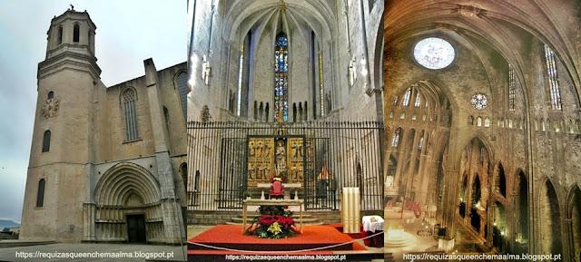 Exterior e Interior da Catedral de Girona