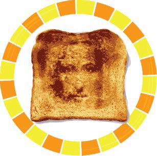 Funny jesus toast plate