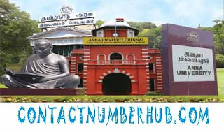 Anna University Contact Number In India