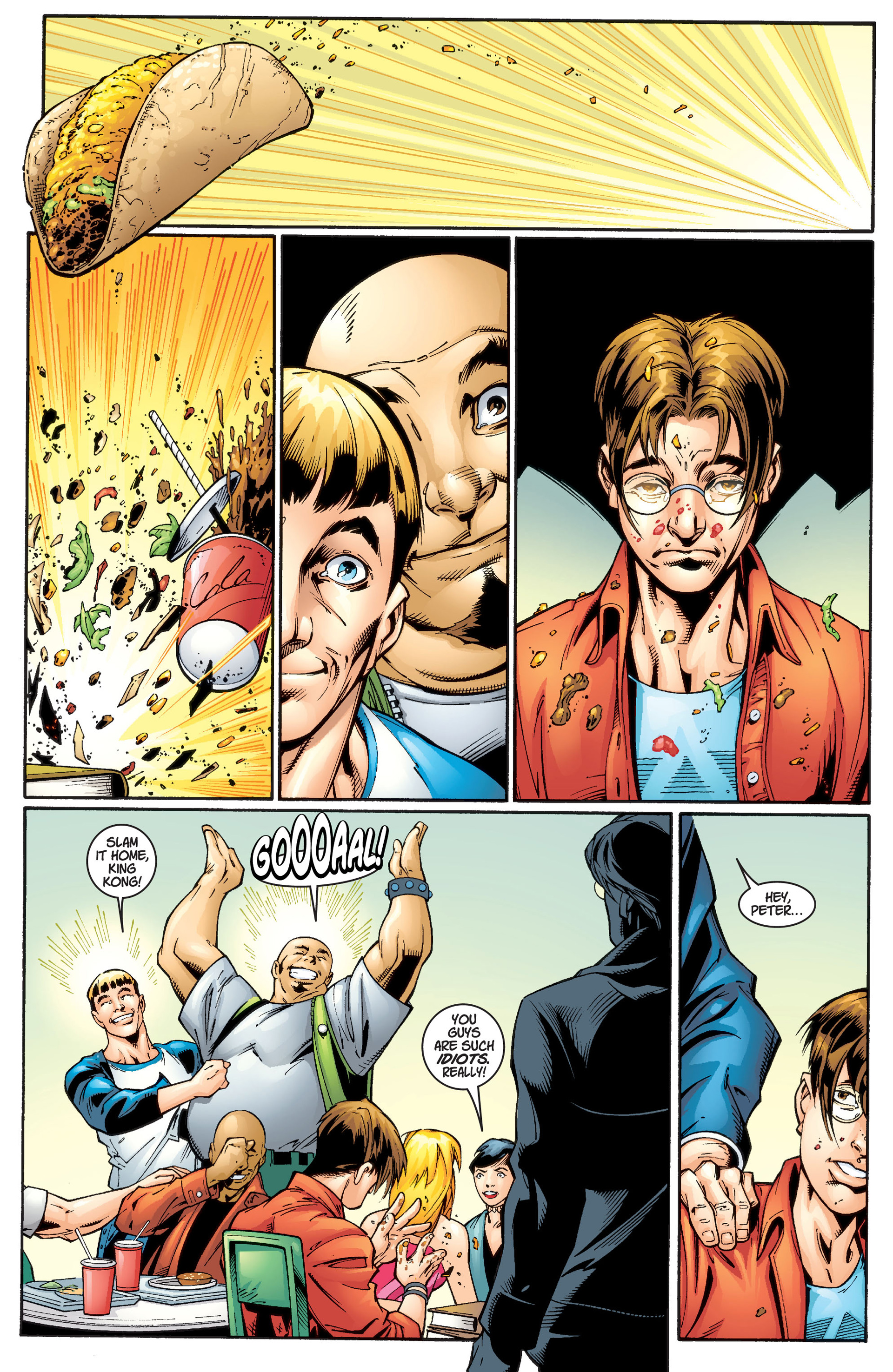 Read online Ultimate Spider-Man (2000) comic -  Issue #1 - 9