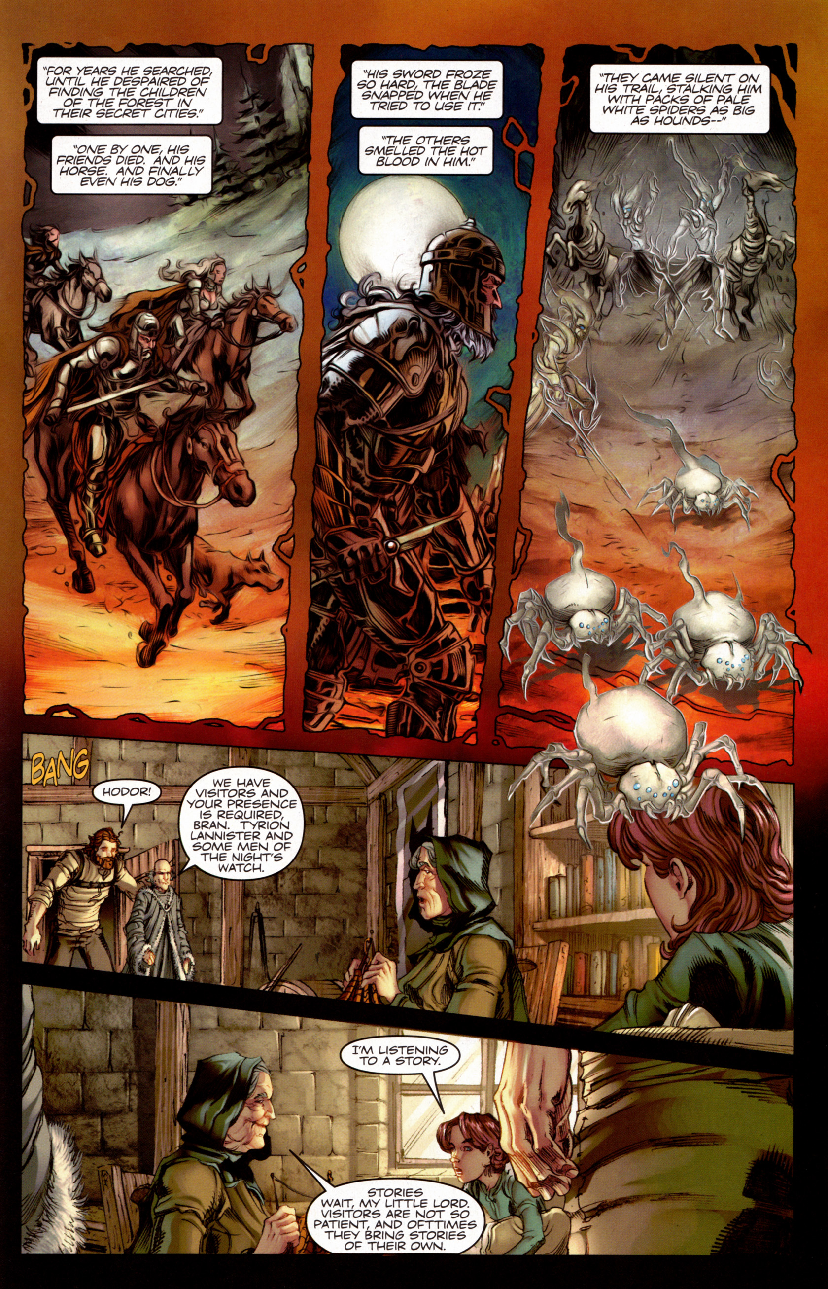 Read online A Game Of Thrones comic -  Issue #7 - 24