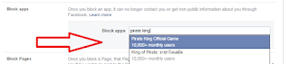 facebook block apps