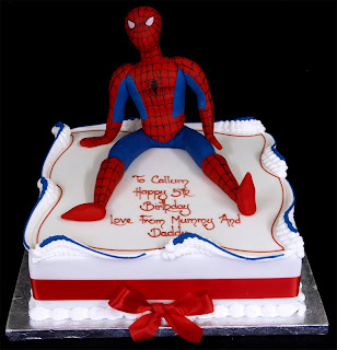 Spiderman Birthday Cakes Spiderman Birthday Cakes For
