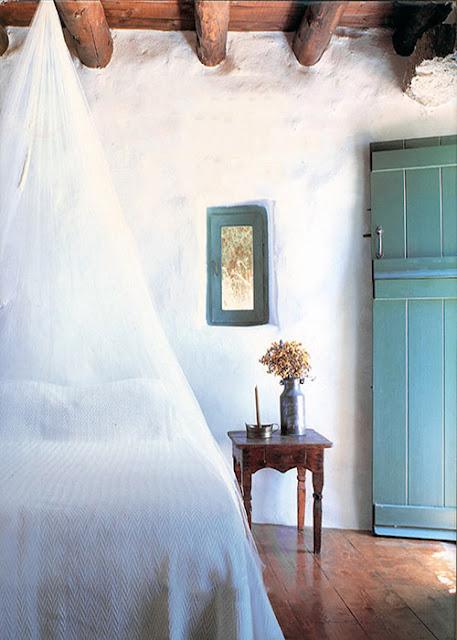 chambre maison grecque traditionnelle
