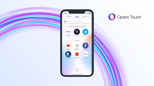 تحميل متصفح Opera Touch أسرع و أخف متصفح لهواتف الأندرويد