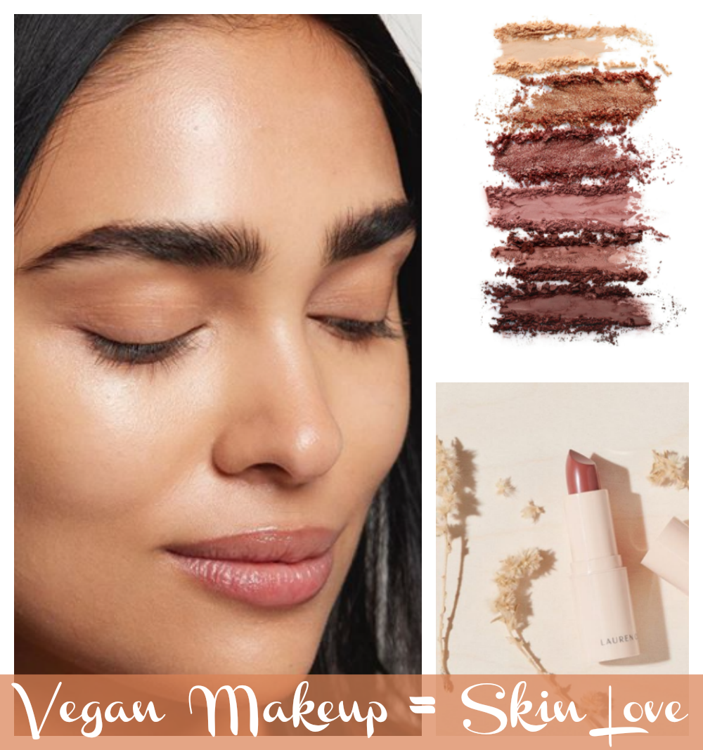 Love the skin you're in with vegan makeup and beauty products.
