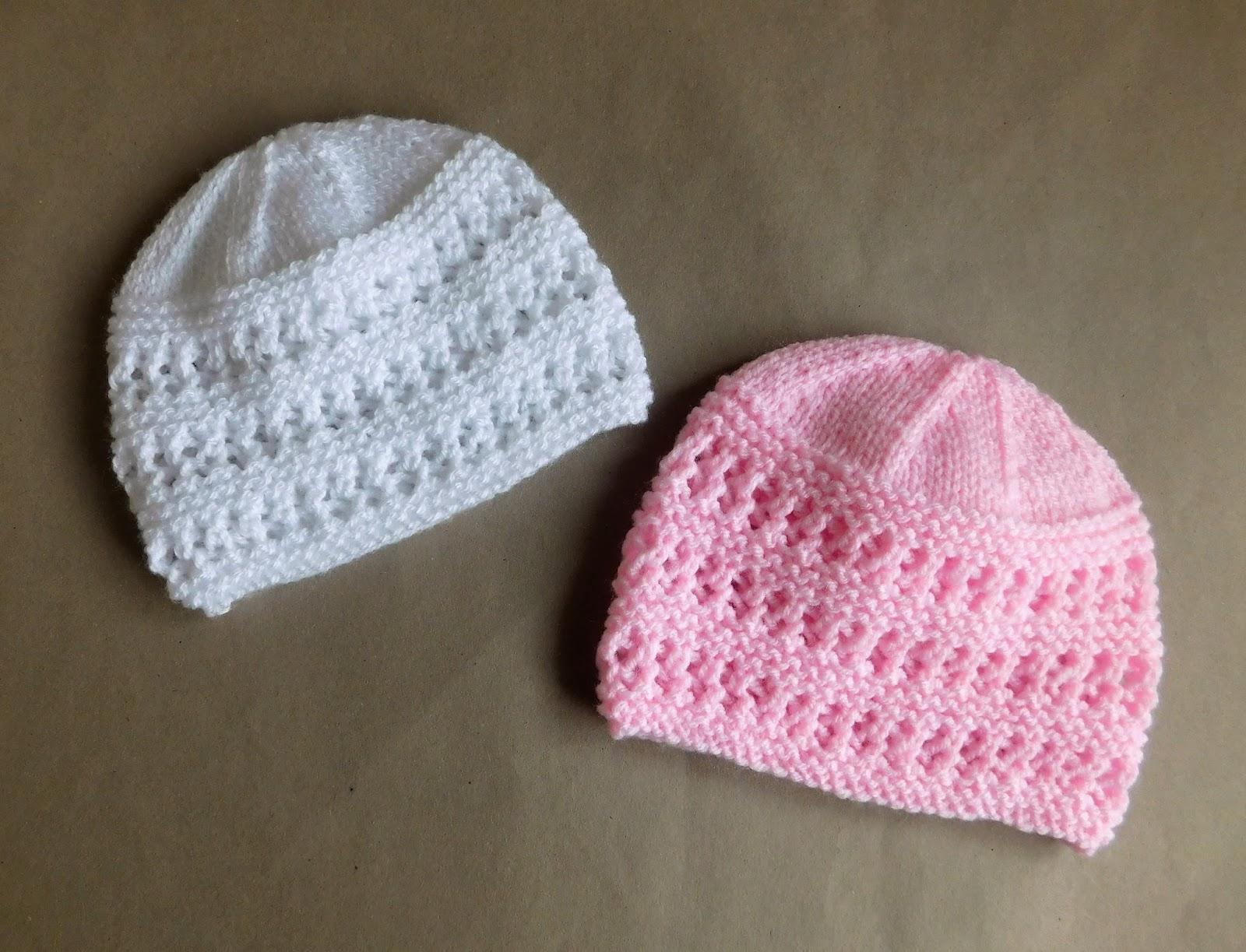 Easy Knitting Pattern For Babies : Marianna s lazy daisy days jasmine baby hat
