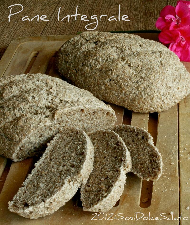 Pane integrale con lievito madre - A letto con mia madre ...
