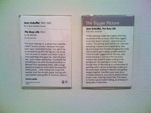 Wall Art Gallery Labels Examples