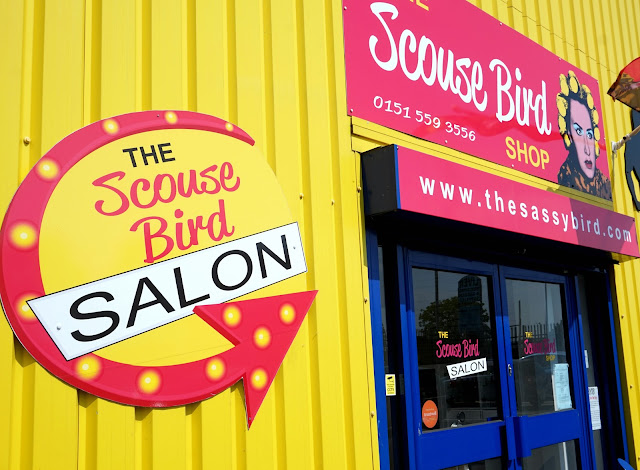 exterior of the scouse bird salon, liverpool