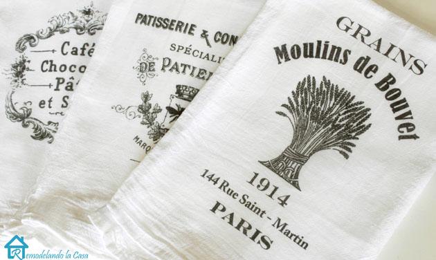 Casa Decors Flour Sack Kitchen Towels