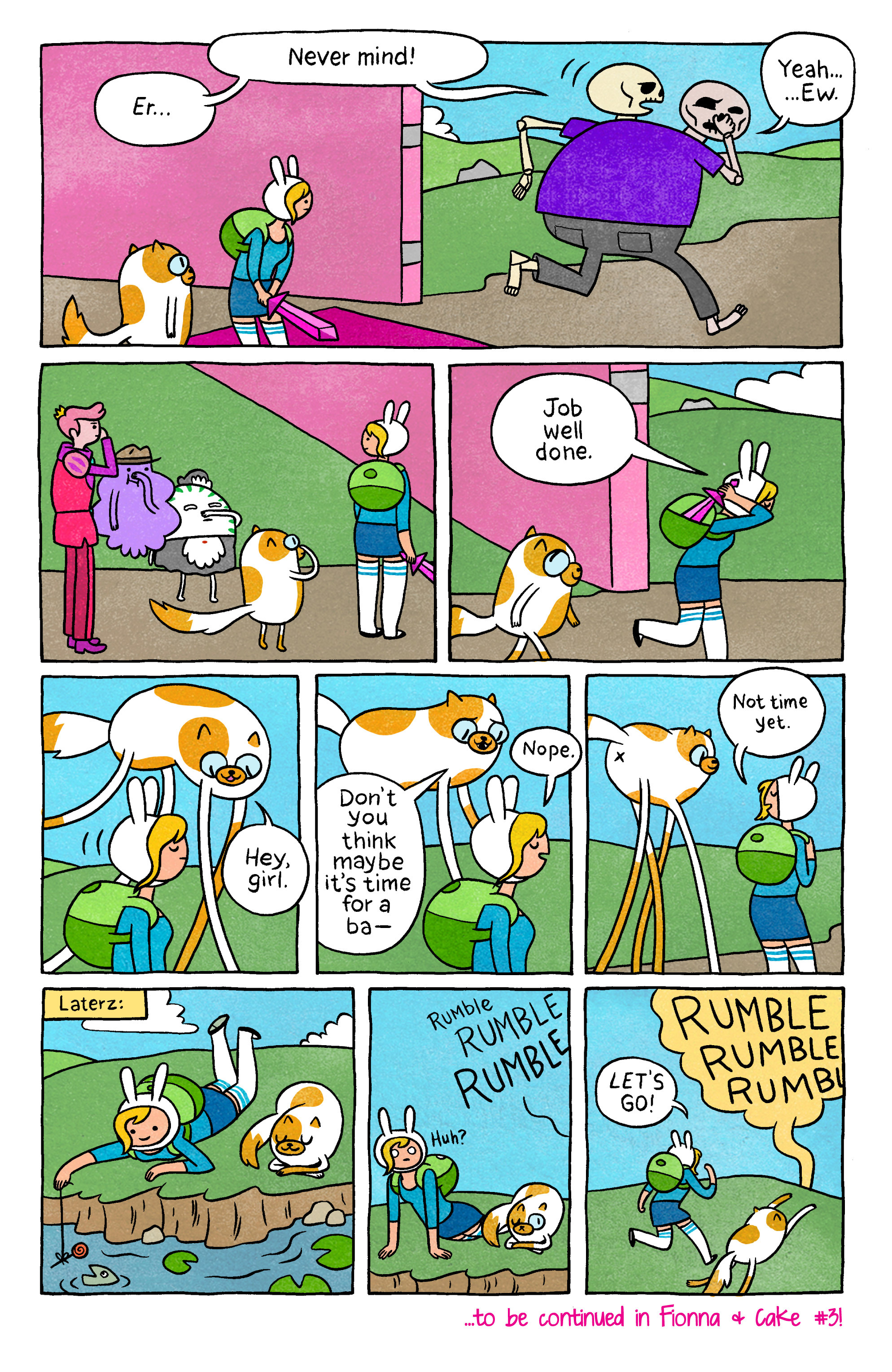 Read online Adventure Time with Fionna & Cake comic -  Issue #2 - 28